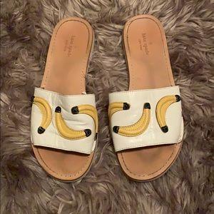 Kate Spade Bananas Sandals